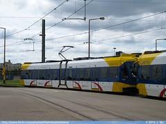 Metro Transit 114 (TheTransitCamera) Tags: bloomington mn minnesota mallofamerica metrotransit lightrail lrt train blueline bombardier flexityswift mtc114