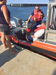 Station Fire Island rescues two after boat runs aground (Coast Guard News) Tags: fireisland uscg longisland ny medevac rescue babylon newyork unitedstates us
