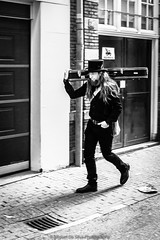 Memories: Project 52 (7/52) (Miguel Da Silva Photography) Tags: street old portrait people blackandwhite musician music man blanco netherlands monochrome amsterdam project y guitar negro memories streetphotography oldschool portraiture memory week weekly bnw project52