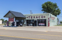 Filler Up at Texaco (Kool Cats Photography over 7 Million Views) Tags: newmexico classic landscape route66 historic gasstation texaco tucumcari gaspumps ef24105mmf4lisusm canoneos6d