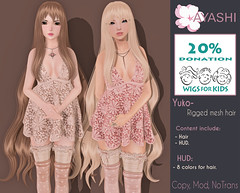 [^.^Ayashi^.^] Yuko hair special for Hair Fair 2016!!! (Ikira Frimon) Tags: life anime cute girl fashion hair blog costume outfit discount nice doll long post mesh cosplay head sale blogger follow special sl event kawaii second lovely m3 sensuality bang hud quiff wavy exclusive hairs yuko rigged beautifully kawai sexually tsg ayashi forelock unevenbangs hairfair ikira frimon utilizator obliquefringe hairfair2016