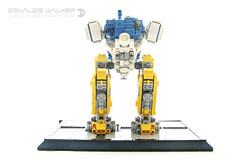 Donald's Mech Walker (dvdliu) Tags: lego moc mech walker mecha donald duck disney robot