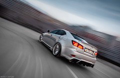 Lexus IS rigshot (Andrey Baydak) Tags: lexus is xe20 2is is250 is300 is350 fsport sedan lowered low vossen cvt automotive nothingextra wideangle 1424 rolling motion speed rigshot