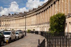 Royal Crescent | Bath-15 (Paul Dykes) Tags: bath somerset uk england georgian johnwoodtheyounger horn column 18thcentury eighteenthcentury gradeilistedbuilding