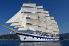Royal Clipper Under Sail IMG_4495 (SunCat) Tags: royalclipper goldenhorn barenecessities cruise travel vacation europe 2016 all canon powershot g3x nude naturist naturists poros greece tallship