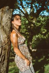 Ed-DSC_9371 (ArnoC.photo) Tags: femme woman girl nature portrait beauty france forest fort nikon d7100 50mm f18 personnes extrieur outdoor paysage beautiful image photo photographie photography pics picture black white bw noir et blanc monochrome
