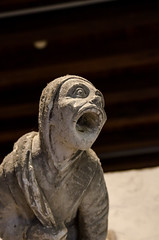 Chteau de Blois (Laurent Dodin) Tags: gargouille statue sculpture visage moyenage chteau blois loiretcher