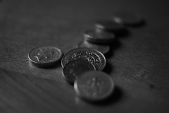 (andrewlee1967) Tags: money coins quid andrewlee1967 canon50d ef35mmf2 andrewlee