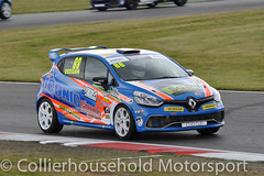 Clio Cup - Q (7) Shayne Deegan (Collierhousehold_Motorsport) Tags: cliocup renault clio renaultclio toca snetterton wdemotorsport pyro cooksport teambmr