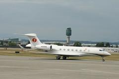 N566NS Nanshan G650 (Vernon Harvey) Tags: vancouver yvr n566ns gulfstream g650 nanshan jet