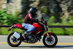 Ducati 1608203335w (gparet) Tags: bearmountain bridge road scenic overlook motorcycle motorcycles goattrail goatpath windingroad curves twisties outdoor vehicle