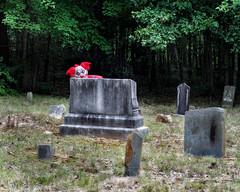 Creep Crept (Doug NC) Tags: creep clown boogiemonster cemetery graveyard eerie spooky fear horror spook nikond7000 nikkor50mm18