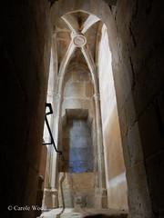 Saint-Hilaire - Abbaye - Rfectoire des moines (Fontaines de Rome) Tags: aude sainthilaire saint hilaire abbaye rfectoiredesmoines rfectoire moines chairedelecture chaire lecture