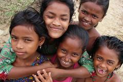 Wetland gang (I.M.W.) Tags: bangladesh srimangol sylhet girls water swim lake pond wetland seriousn