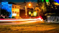 DSC00555 (Allen KV) Tags: nightphotography night lowlight longexposure longshutterspeed dim colorfullights street streetlights cars road sonya6300 sonyalpha beam