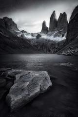 Desolacin (LFelipe_P) Tags: chile landscape patagonia ngc torresdelpaine mountain bn paine