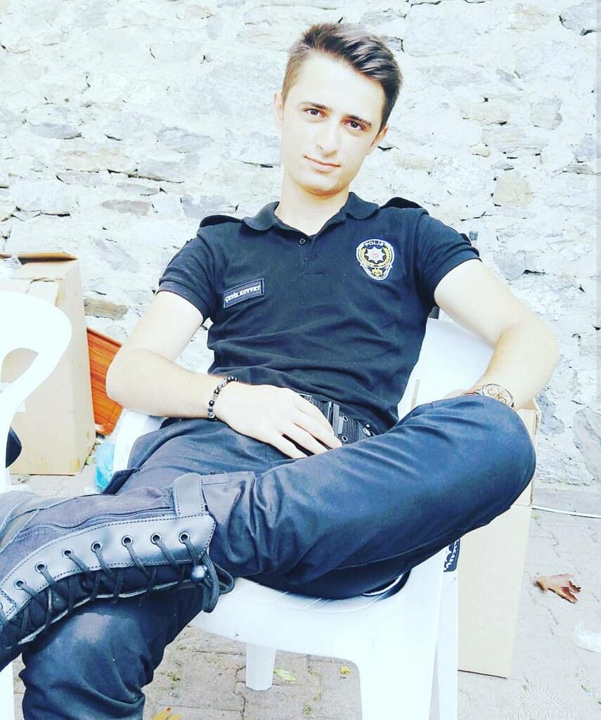 All handsome male police full naked 4