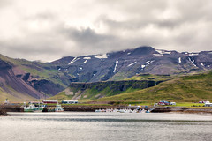 Stykkishlmur Harbor_4696 (hkoons) Tags: northatlantic snaefellsnespeninsula atlantic harbor iceland stykkishlmur bay boat buoy fiord fish fishermen fishing inlet island marine north ocean saltwater salty sea ship troller vessel water