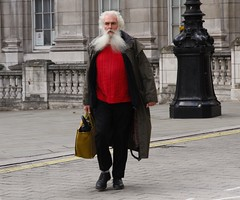 IMG_7277 (danakhoudari) Tags: mood beard perspective scenery red white london canon man