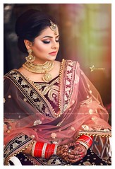 Just too short of words for this one.  (Vipul Sharma 007) Tags: happy bride bridal musings best indian wedding photographer chandigarh vipul sharma follow followus trending facebook instagram flickr yahoo gmail googleplus jelwellery amazing photography goals ethnic wear weddings inspiration