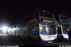 15605 (northwest85) Tags: stagecoach worthing coastliner 700 gx10 hbp 15605 scania alexander dennis adl enviro 400 bus depot gx10hbp