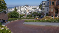 The Winding Road of San Francisco (joecris2) Tags: hills hill cars francisco san sanfrancisco road winding