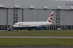 G-VIID. (aitch tee) Tags: cardiffairport aircraft airliner britishairways bamc boeing b777200 gviid cwlegff maesawyrcaerdydd walesuk