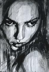 Non Nude Fine Art OIL & ACRYLIC CANVAS Painting ORIGINAL Portrait By L Dolan A2 (ldolanart) Tags: non nude fine art oil acrylic canvas painting original portrait by l dolan a2