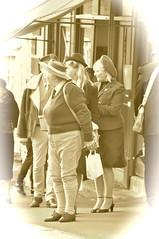 _DSC2864 Pickering war weekend 2016 (petelovespurple) Tags: 1940s 2016 ww2 wwii women wartimeweekend warweekend england reenactment ryedale yorkshire yesteryear uniforms uk people petee pickering plp pickeringwartimeweekend pickeringwarweekend army smiling stockings skirts sexy seamedstockings seams d90 dressup drinking dresses fun furs fortiesweekend forties girls gentlemen gals hats having heels hunks happy landgirls ladies lads lasses costumes cosplay candid vintage boots boys beautiful nikon northyorkshire men