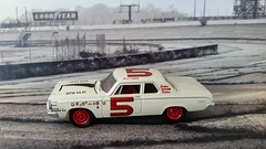 1963 Bill Wade 63 Dodge (G-Man's NASCAR Minatures) Tags: gcast custom scf rookie