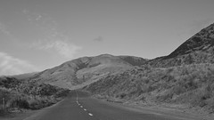 COASTAL ROAD B+W (Mike Reval) Tags: california usa coast line road landscape bw