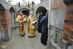 113. The Laying of the Foundation Stone of the Church of Saints Cyril and Methodius / Закладка храма святых Мефодия и Кирилла 09.10.2016