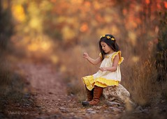 Autumn Nights (Portraits by Suzy) Tags: fall autumn color leaves moment candid trees green beautiful girl light forest beauty yellow 200mm canon 6d pretty child childhood warm fashion story suzy mead portraits by las vegas photographer