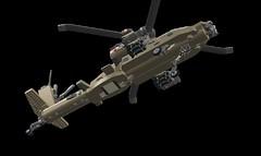 AH-64 longbow apache (komjatiistvan76) Tags: lego ldd helicopter apache ah64 war longbow