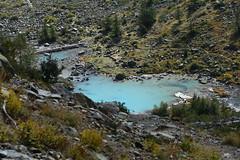 Le lac de la Douche (J.Dmt) Tags: montagne lac randonne hautesalpes douche bleu lacte paysage panorama