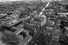 Uitzicht vanuit de Achmeatoren in Leeuwarden (Frits Kooijmans) Tags: 2016 leeuwarden nederland uitzicht achmeatoren