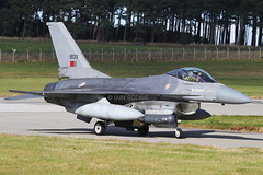 (scobie56) Tags: general dynamics f16 fighting falcon 15133 portuguese air force fora aerea portuguesa esq 201 falces falcons 301 jaguares jaguars monte real lpmr portugal exercise joint warrior 162 raf royal lossiemouth moray scotland