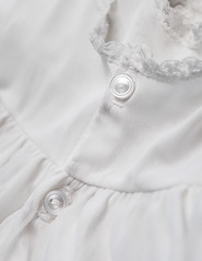 ODC - Lace, Lacy (lclower19) Tags: vintage lace button dress doll odc lacy white