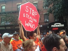 Rally at East 11th Street (GVSHP) Tags: labor ironworkers asbestos moxy atthemoxy