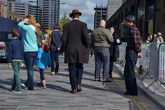 2016-10-02: He Walks Unseen (psyxjaw) Tags: london londonist vintage festival classic car boot sale classiccar kingscross shopping lewiscubitsquare