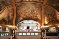(Nicoitai) Tags: galeria pacifico cupula techo arte pintura nicolas molina itai producciones