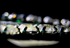 Bokeh and facets (donjuanmon) Tags: macro closeup glitter diamonds bokeh hmm facets macromondays donjuanmon