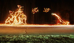 Christmas Light Display 20 (stevensiegel260) Tags: christmaslights santaclaus