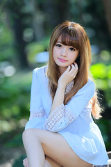 _I1R6235 (mabury696) Tags: portrait cute beautiful asian md model wang lovely  q bi 2470l          asianbeauty   cubie 85l 1dx q 5d2 5dmk2