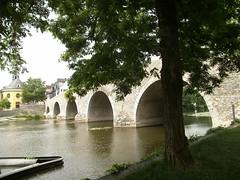 Alte Lahnbrcke in Wetzlar / Bridge over the River Lahn in Wetzlar (to_isafold) Tags: bridge water river germany wasser giessen brcke fluss lahn