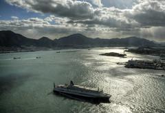 Ganryujima Island (ogawa san) Tags: bridge sea sun water japan  yamaguchi straits   kokura   shimonoseki   kanmon  kyushuu     ganryujima  honshuu  mokji