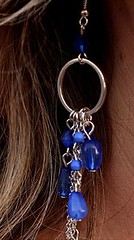 Glimpse of Malibu Blue Earrings K1 P5710-5