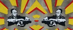 Giuseppe // Dessì (Kispio®) Tags: streetart art wall digital graffiti mirror lyrics stencil paint symmetry spray mirrored writer graffito murales simmetria olivetti poesie multiply macchinadascrivere campidano scrittore geometries villacidro giuseppedessì supersymmetry biddexidru kispio® piazzadessì