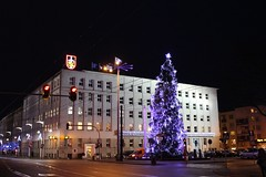 Gdynia (dariusz_ceglarski) Tags: christmas tree night canon shot nightshot nacht poland polska nat nuit zima natt ntt  gece choinka gdynia  dariusz nigt witojaska nigtshot nokto  nigtshots ceglarski