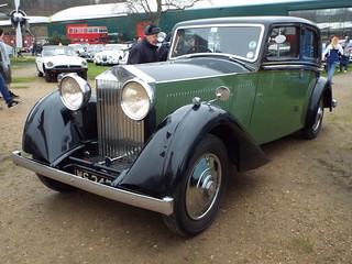 1934 Rolls-Royce 20/25 Windovers Limousine.